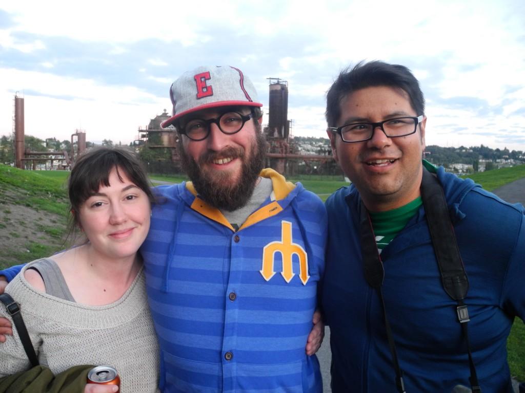 Tara, Ben and Roberto