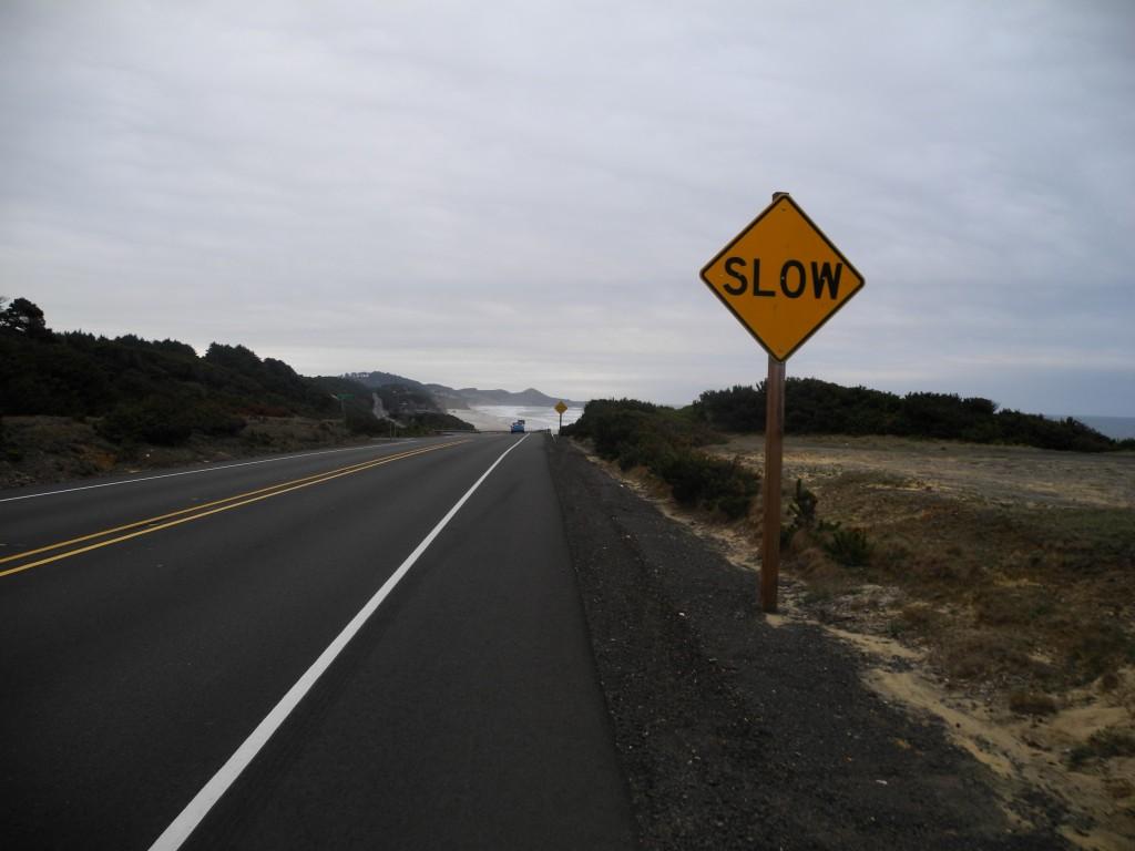 Cycle slow!