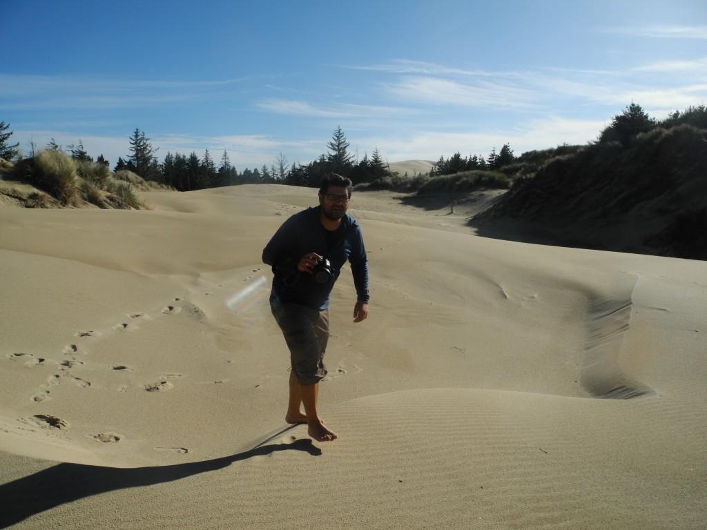 Sand Dunes Oregon