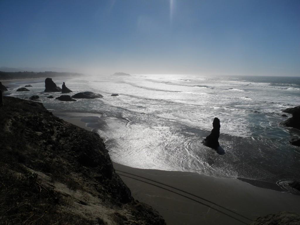 Oregon Beach Cycling