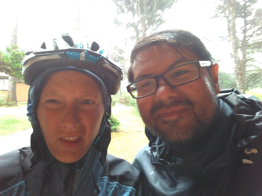Wet Roberto and Annika