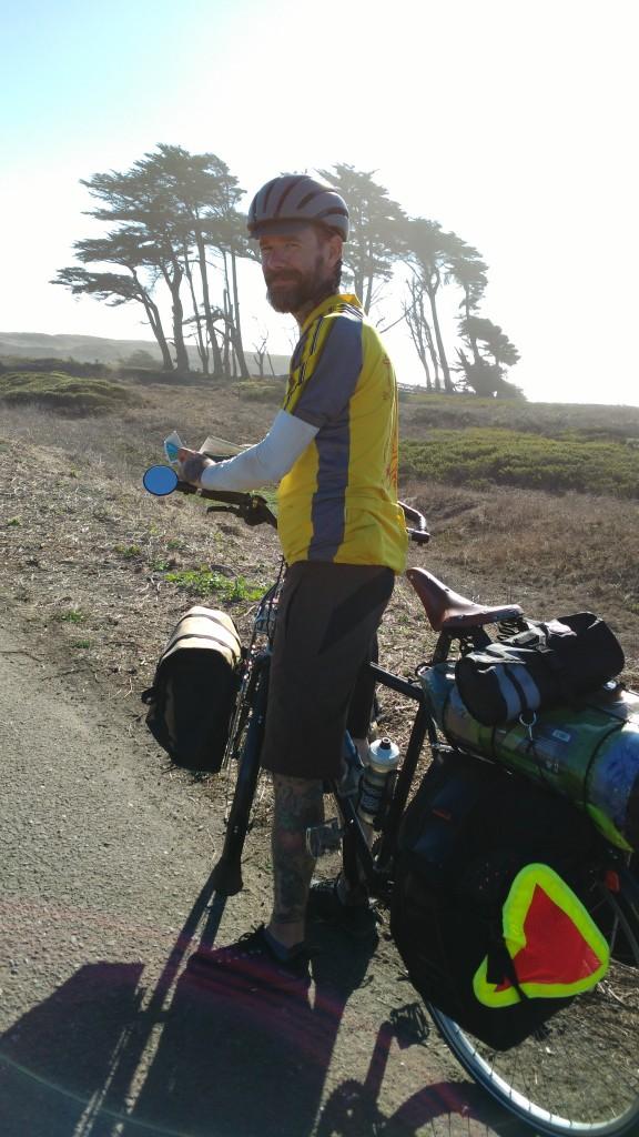 Bike path on PCBR