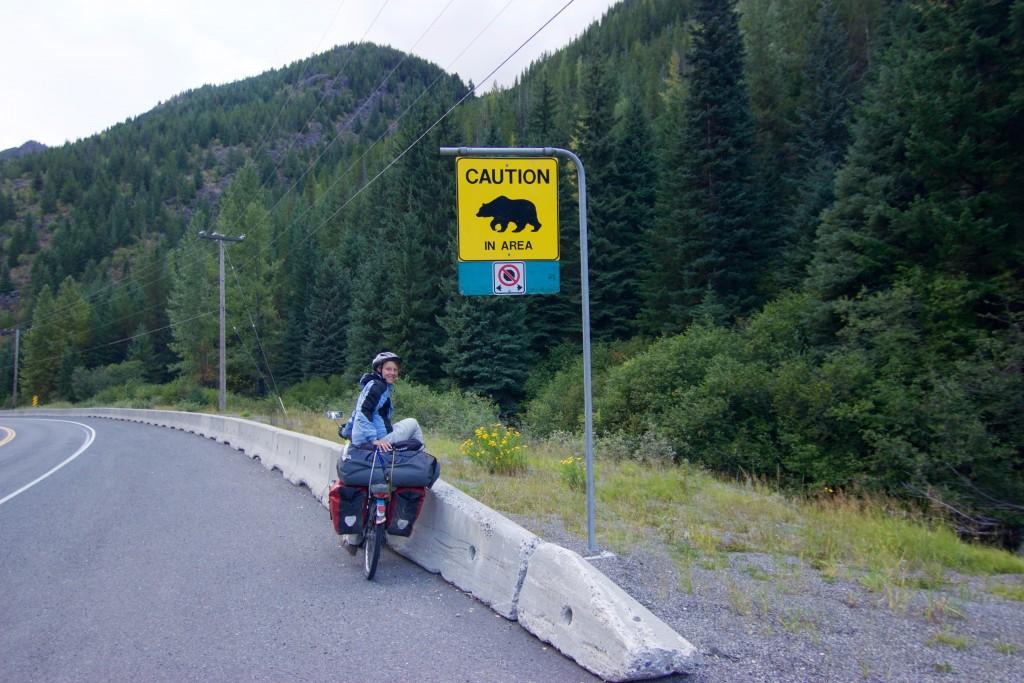 Bear warning in Canada