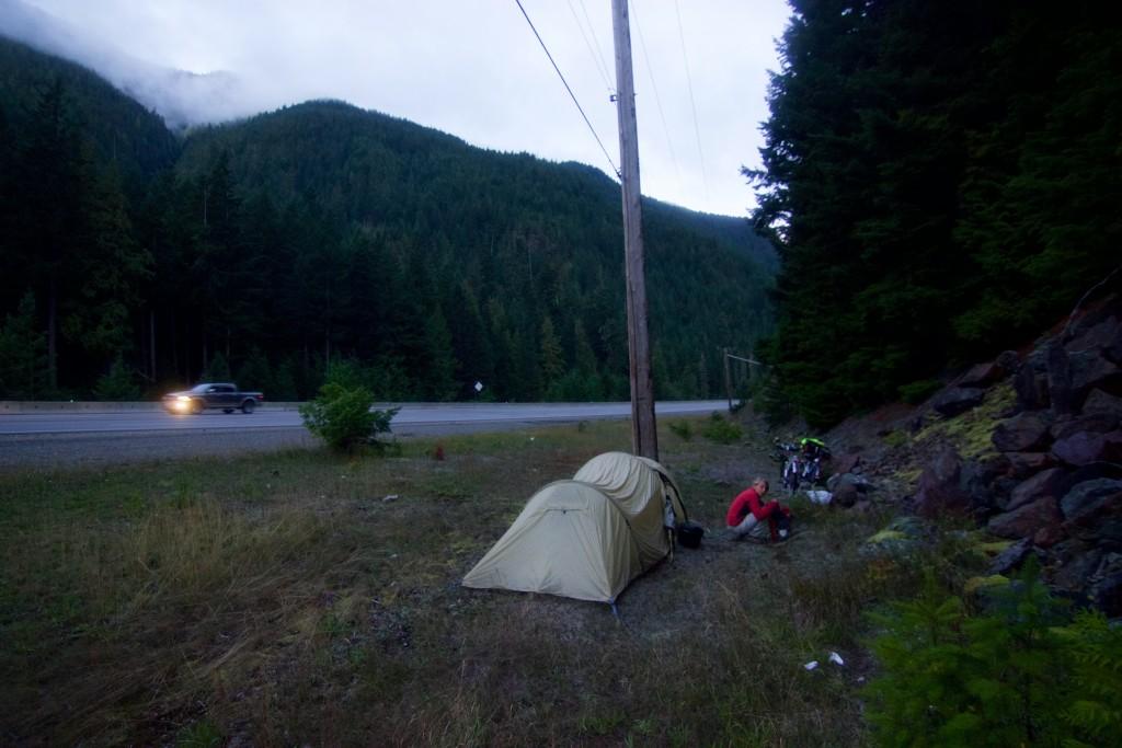 Road camping