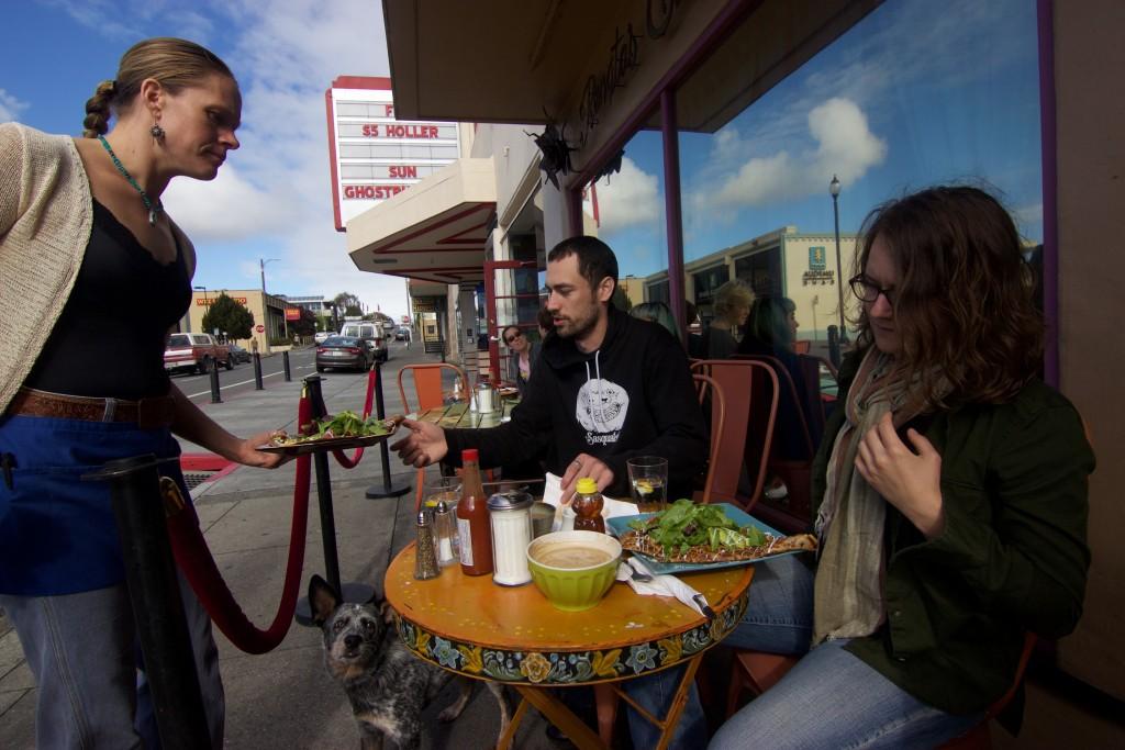Café in Arcata, California