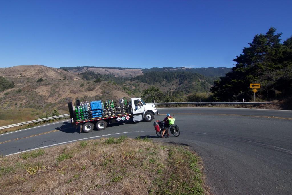 Pretty tough climbs in Mendocino County