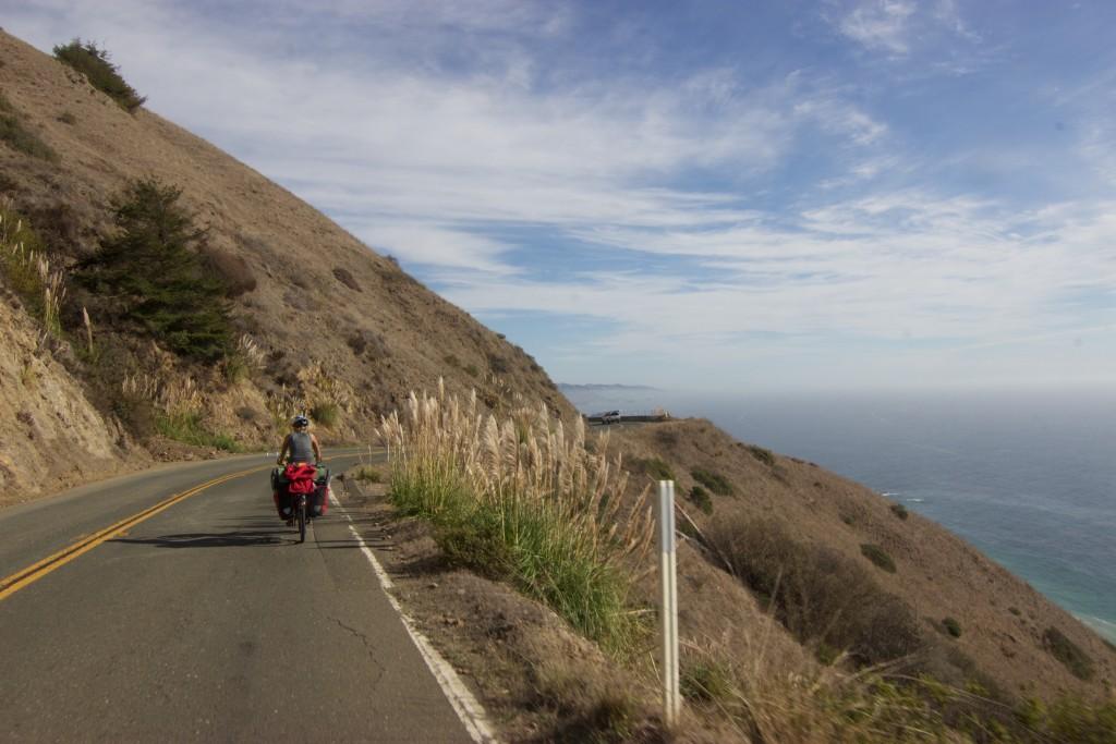 Cycling through arid California