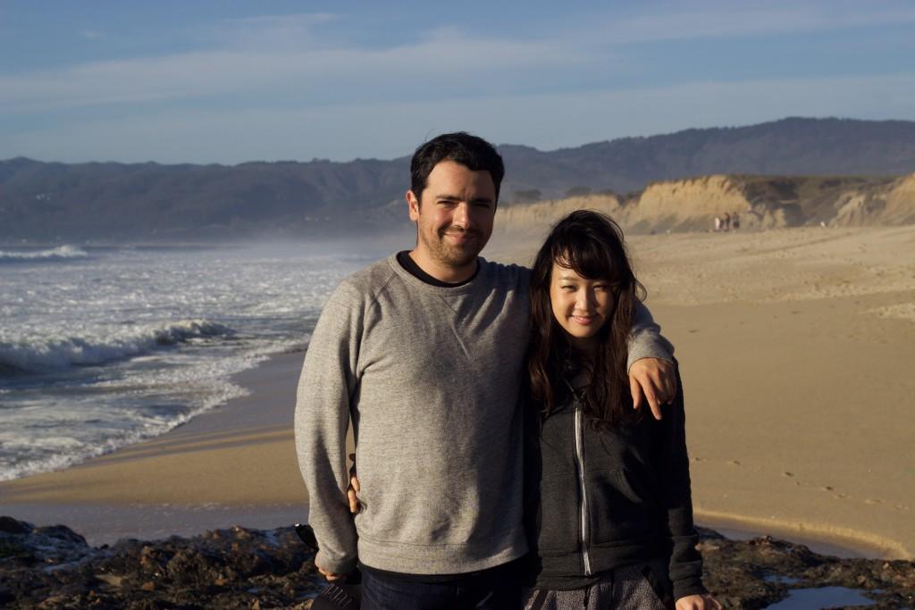 Roberto's highschool friend Gabriel and his girlfriend Yukira