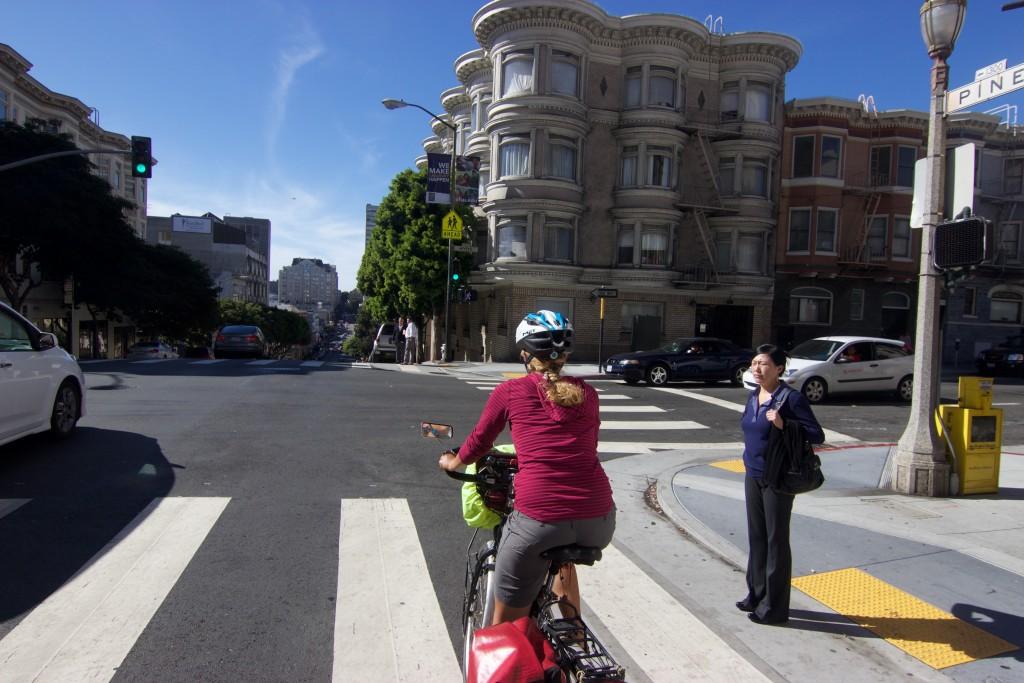 Biking San Francisco