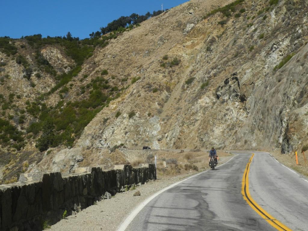 Ride through Central California
