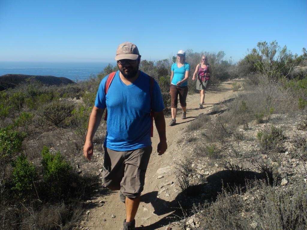 Hiking in the Montaña de Oro State Park