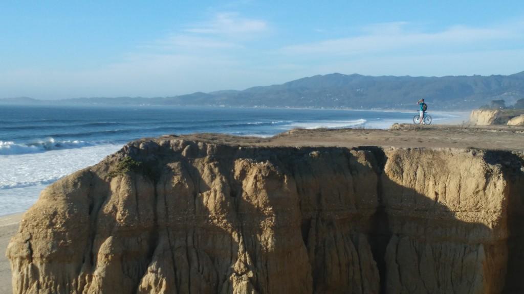 Pretty beach near San Francisco