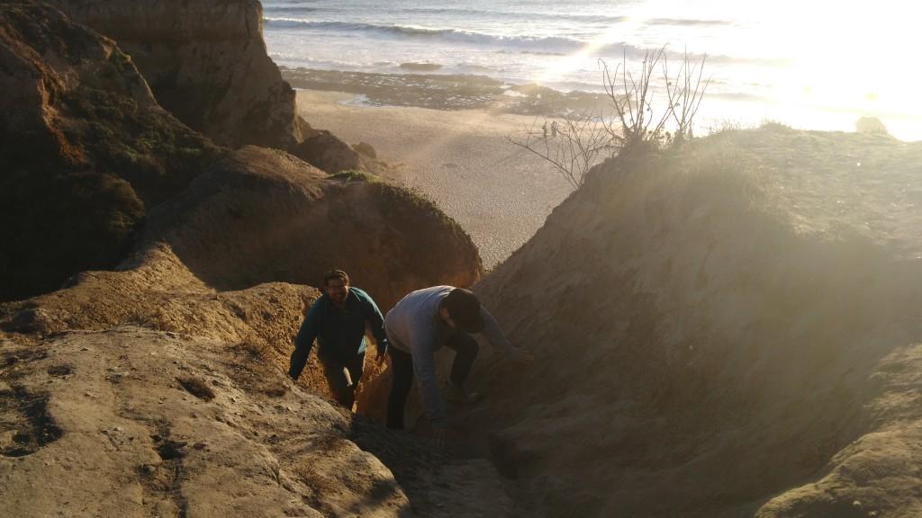 Beach walk just South of San Francisco