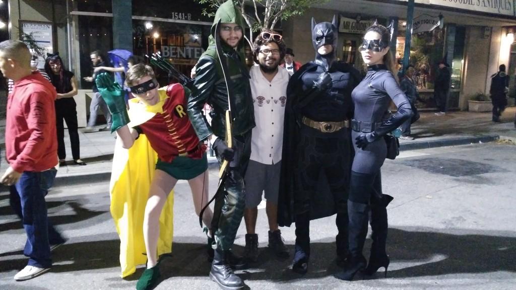 Halloween Superhero Team