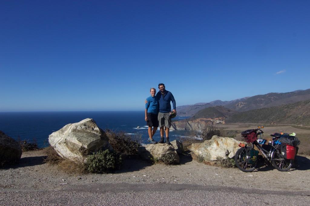 Scenic ride along the coast