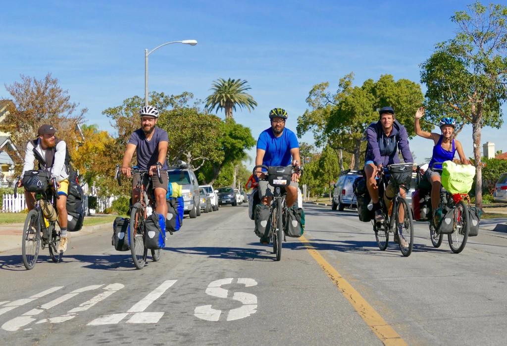 Biker gang with no motor? Cycling through Los Angeles