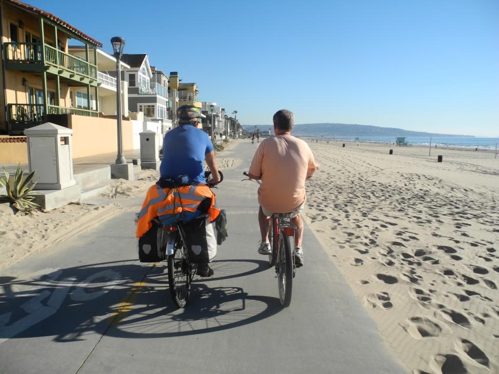 Cycling through LA