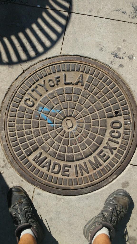City of LA. Made in Mexico.