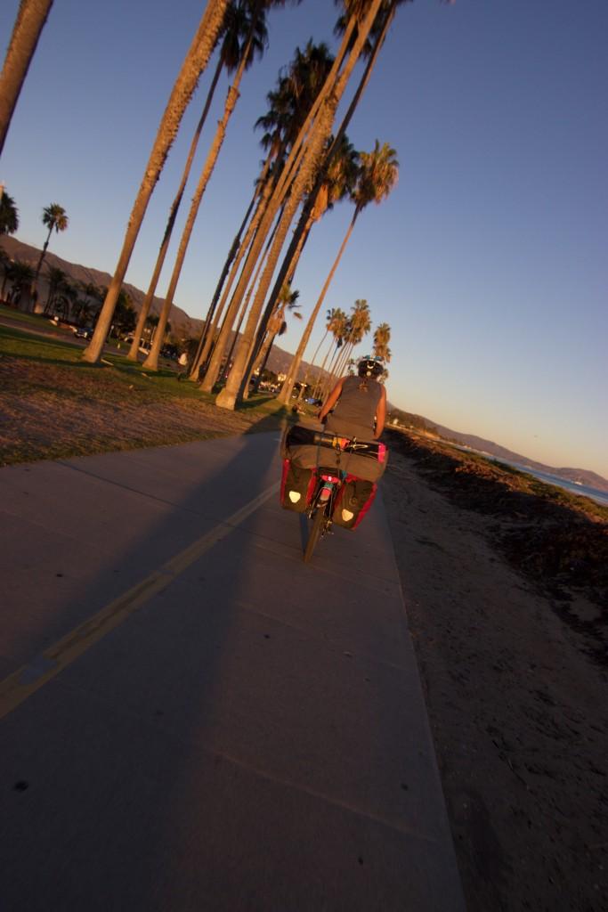 Just before sunset in Santa Barbara