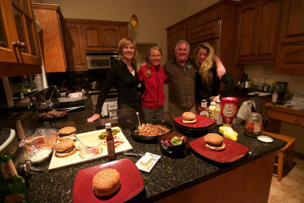 Marian, Annika, Doug and Cat