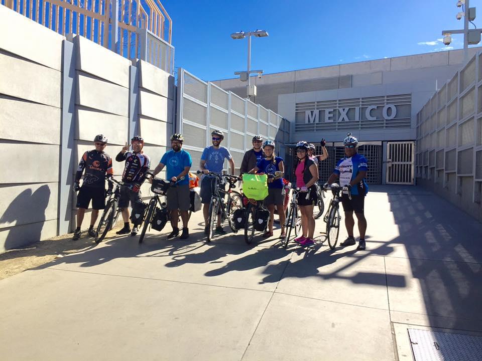 Cycling into Mexico via San Ysidro