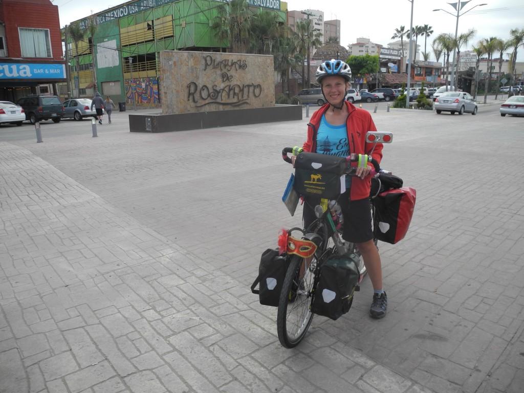 Welcome to Rosarito, Baja California by bike