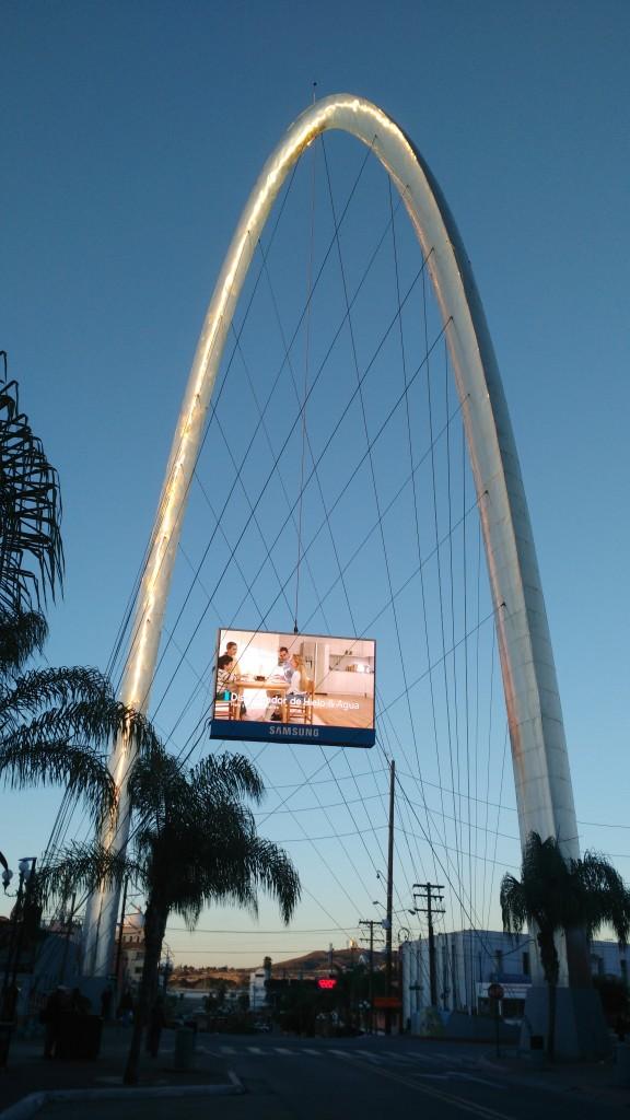 """""""El Reloj"""" (Die Uhr) ist das Wahrzeichen des Stadtzentrums."""
