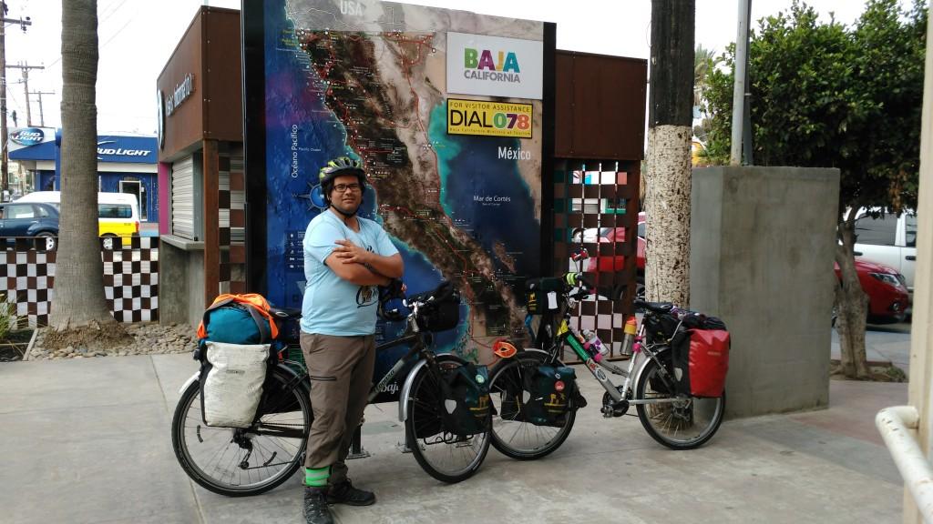 Cycling the Baja California #bajabybike #bajamitdemfahrrad #bajaenbici
