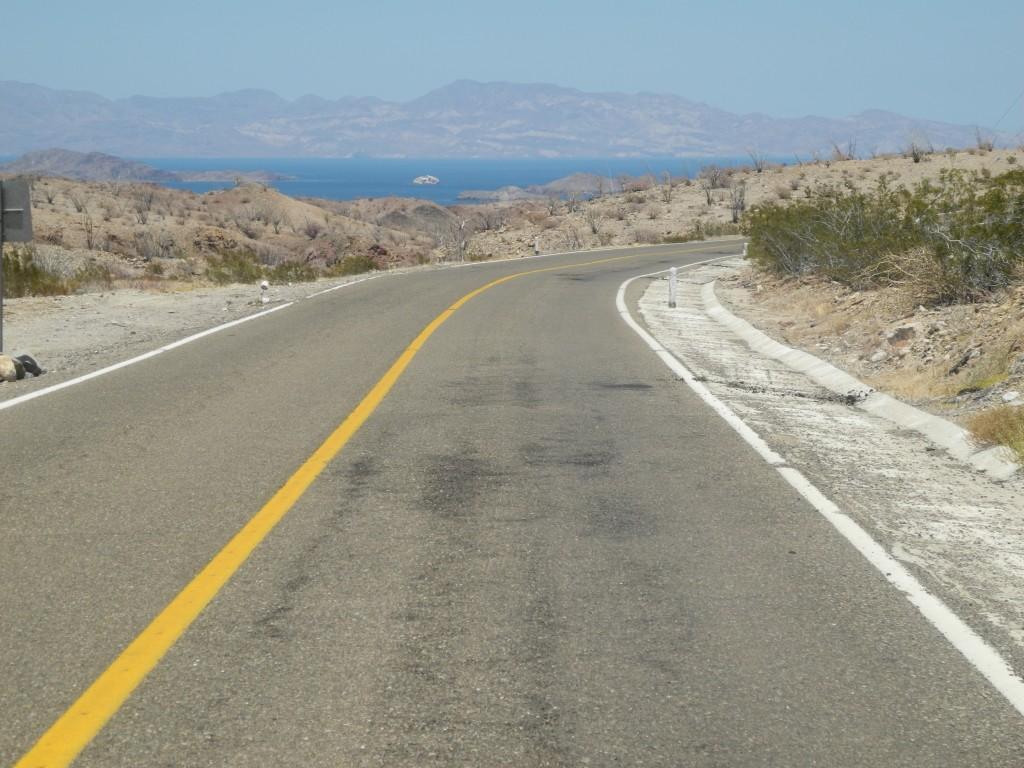 Towards Bahía de los Ángeles