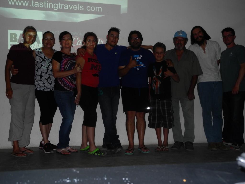 Tasting Travels presentation in Bahía de los Ángeles