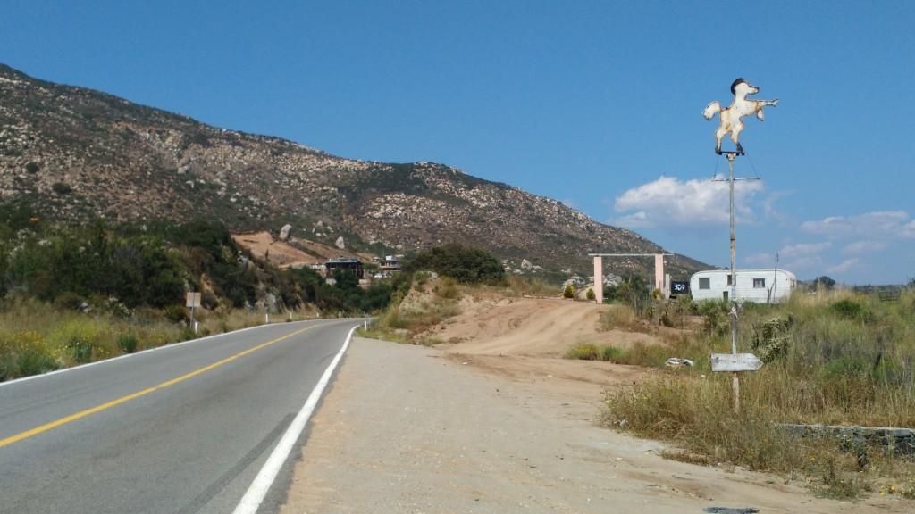 Landscape between Ensenada and Ojos Negros