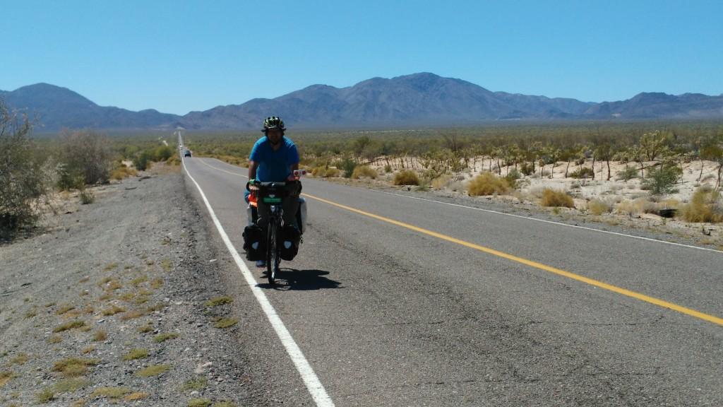 Empty desert road