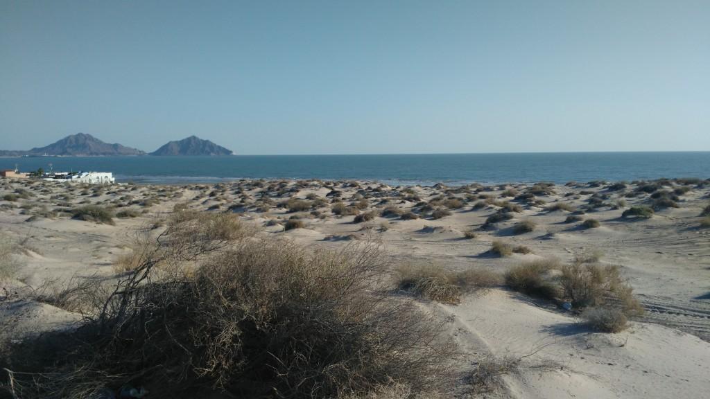 Leaving San Felipe