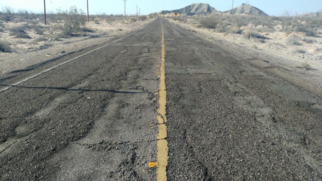 Bumpy Highway 5, Mexico