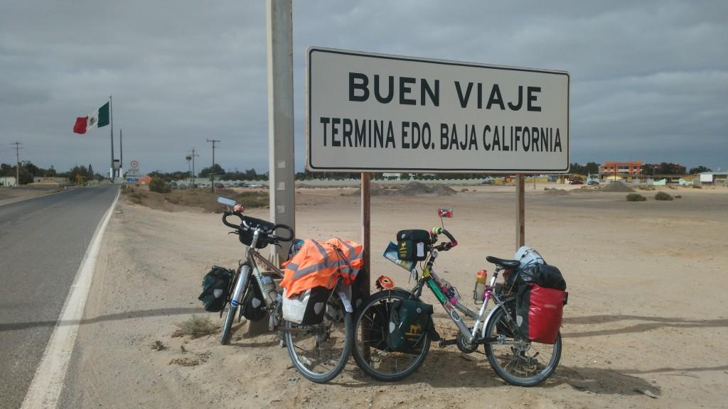 Bye bye Baja California ...