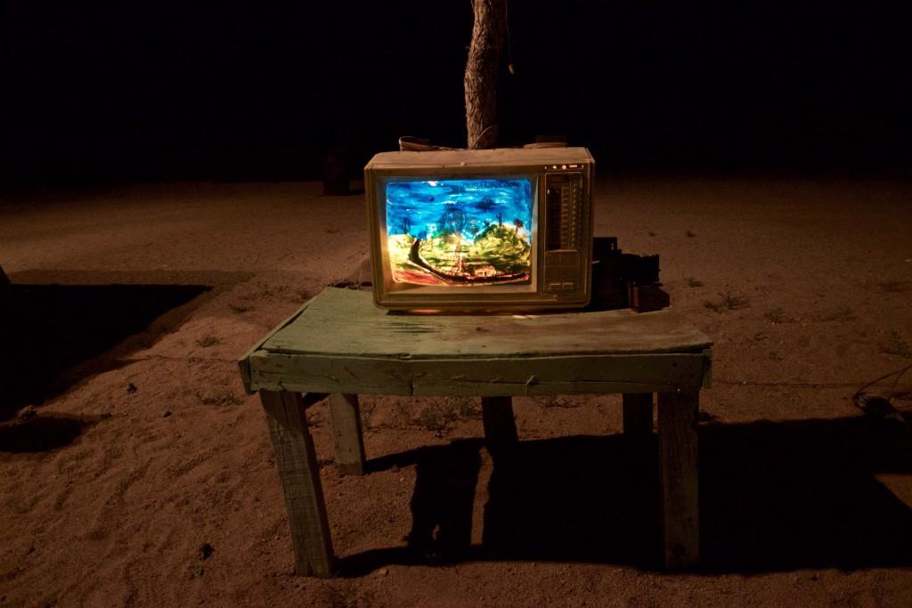 Instalación de la TV artistica
