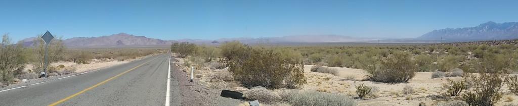 Through the desert