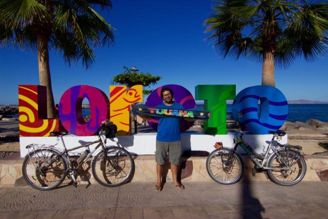 Loreto en Bicicleta