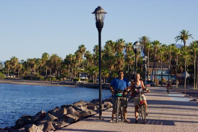 Loreto boardwalk