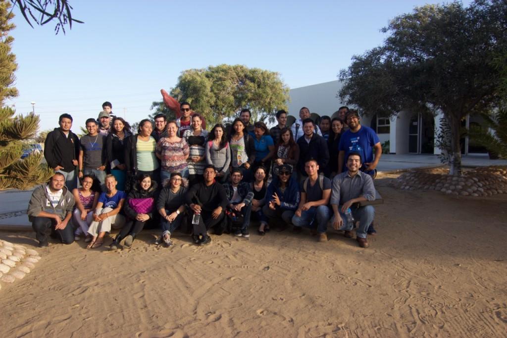Estudiantes de UABCS