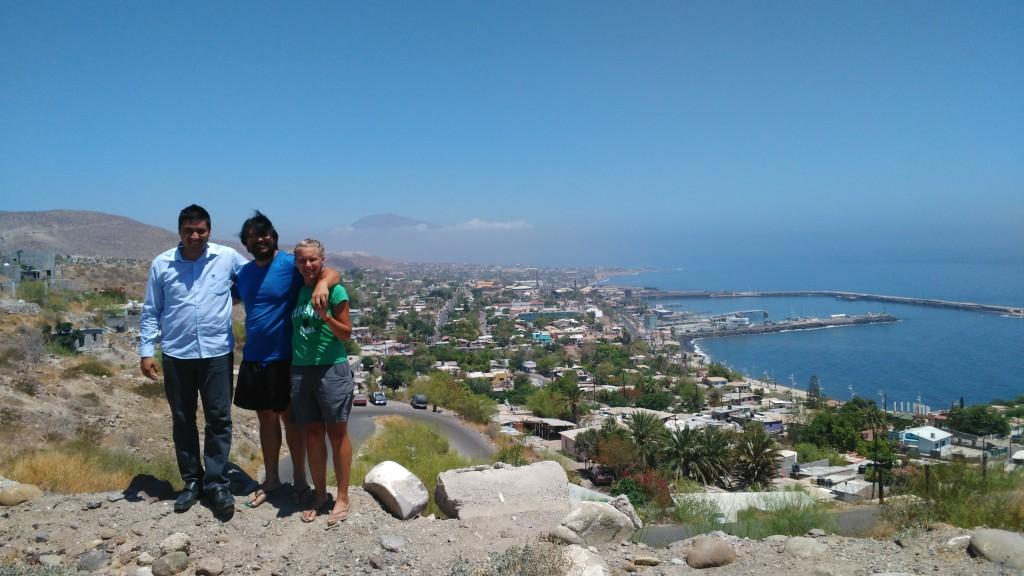 View onto Santa Rosalía