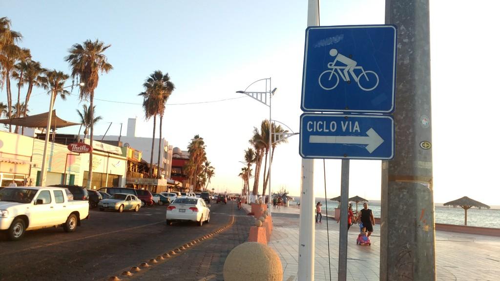 La Paz Bike route