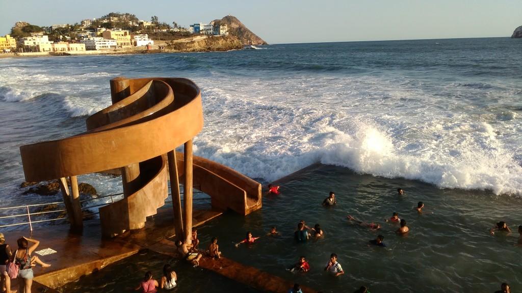 Mazatlán's rock pool