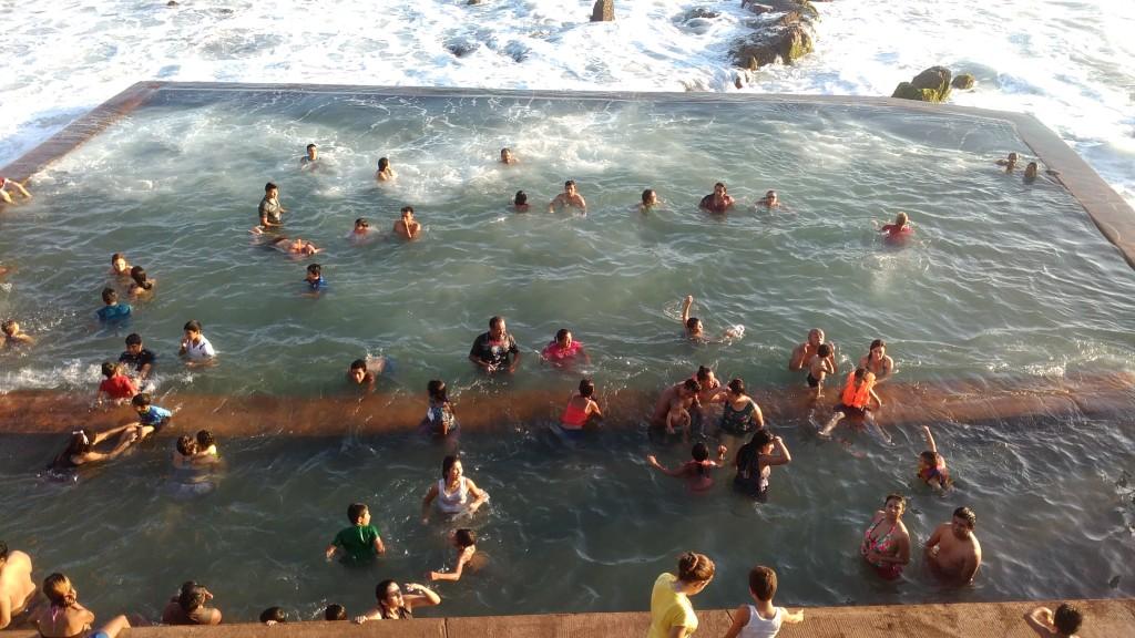 Rock pool in Mazatlán