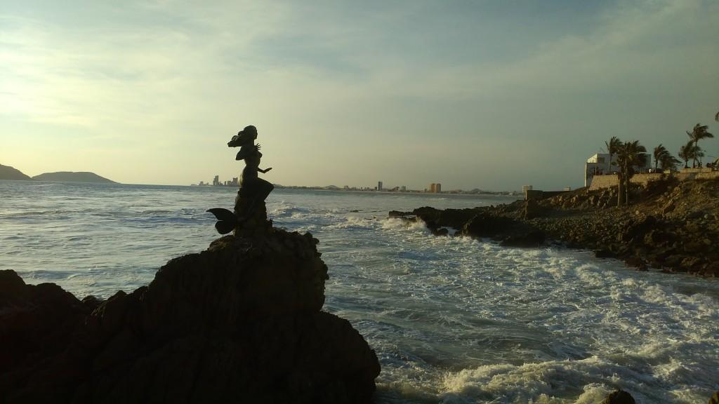 The mermaid of Mazatlán