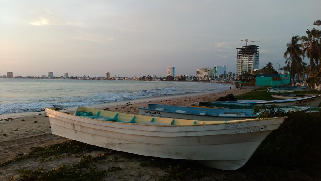 Mazatlán's beach