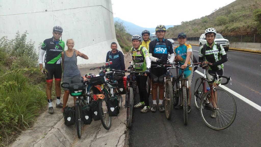 Ciclistas de Ixtlán del Río