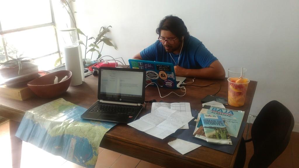 Roberto at work