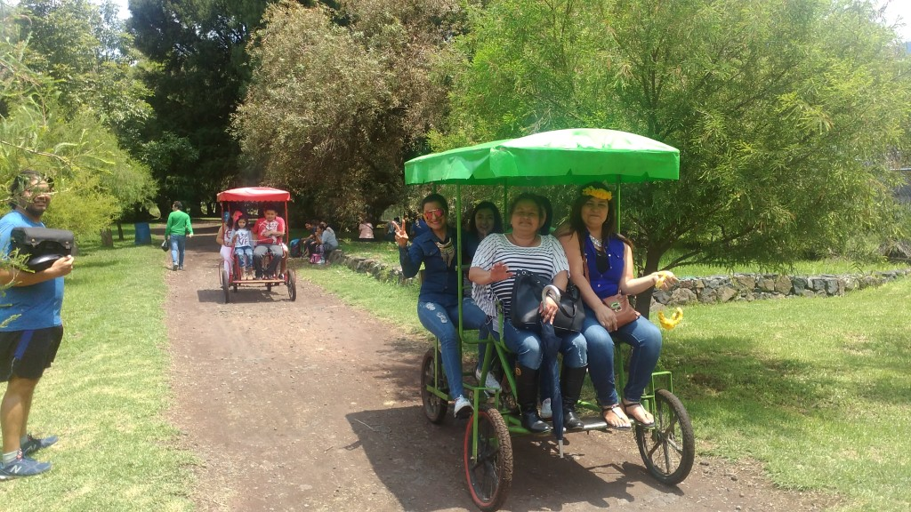 Rental bikes for four in Camécuaro, Michoacán