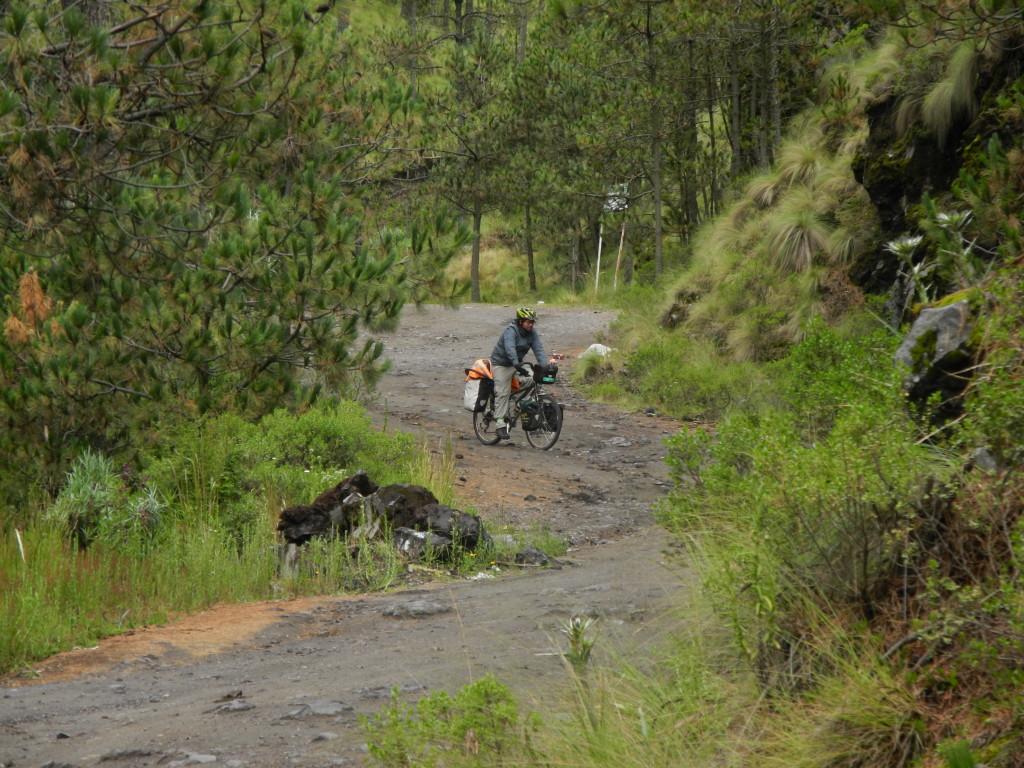 Paso de Cortes en bici
